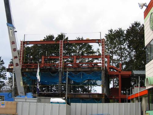 幼稚園鉄骨建築工事(富士市内)